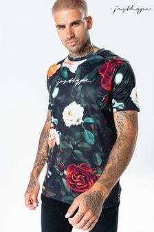 Hype. Mens Multi Roses T-Shirt