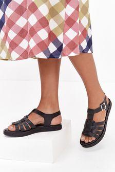 Forever Comfort® Flatform Fisherman Sandals