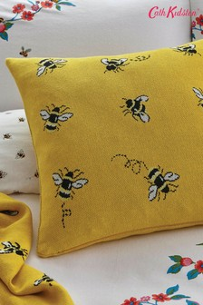 Cath Kidston Yellow Honey Bee Cushion