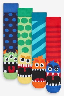 4er-Pack Monstersocken