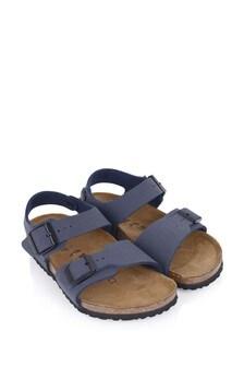 Birkenstock Boys Navy New York Sandals