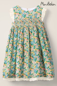 Boden Multi Nostalgic Smocked Dress