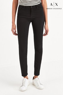 Armani Exchange Black Super Skinny Jeans
