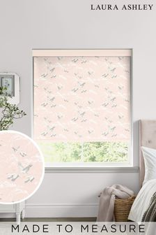 Laura Ashley Blush Pink Animalia Made To Measure Roller Blind