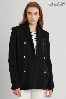 Lauren Ralph Lauren® Black Cardigan Trindela Jacket