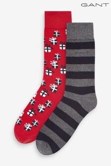 GANT Socks Gift Box 2 Pack