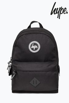 Hype. Black Explorer Backpack