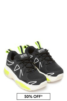Boys Navy/White Trainers