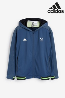 adidas Navy Messi Track Top