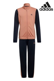 adidas Navy Linear Tracksuit