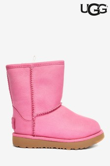 UGG® Classic Pink Weather Short Boots