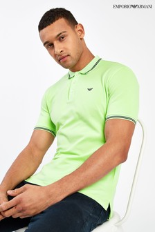 Emporio Armani Light Green Poloshirt