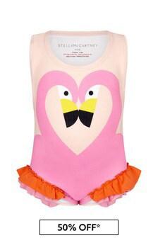 Stella McCartney Kids Baby Girls Pink  Swimsuit