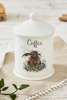 Royal Worcester Wrendale Hare Coffee Storage Jar