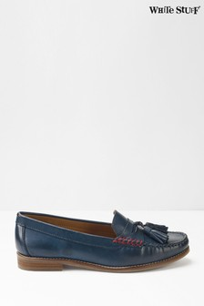 White Stuff Navy Lexi Loafers