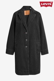 Levi's® Black Longline Denim Coat