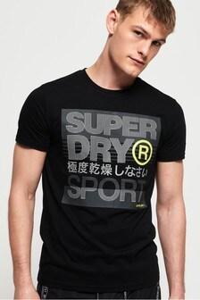 Superdry Core Logo Text Short Sleeve T-Shirt