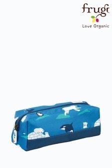 Frugi Pencil Case In Polar Bear Print