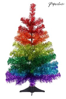 Paperchase 2ft Rainbow Christmas Tree