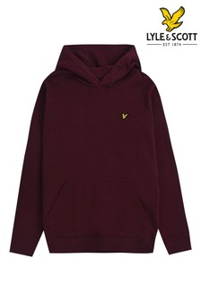 Lyle & Scott Purple Classic Hoody