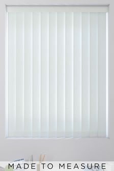 Textured Sky Blue Made To Measure Vertical Blind