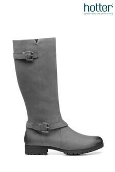 Hotter Belgravia Zip Fastening Knee Boots