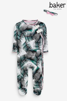 Baker by Ted Baker Palm Sleepsuit
