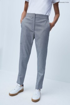 French Connection Houndstooth Stng Tlrd Trousers