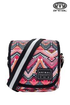 Animal Red Dawn Cross Body Bag