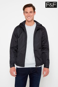 F&F Black Ripstop Jacket