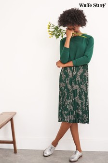 White Stuff Green Gwenyth Dress