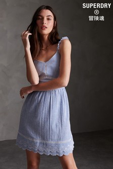 Superdry Blue Cami Dress