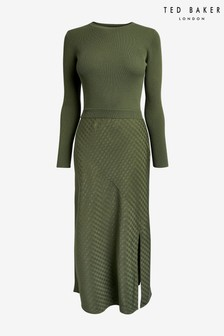 Ted Baker Joowani Long Sleeve Knit Mockable Dress