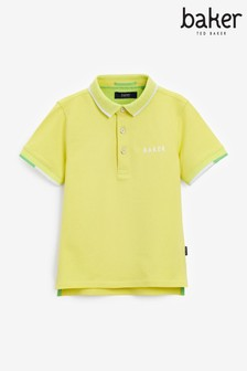 Baker by Ted Baker Older Boys Yellow Poloshirt