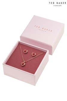 Ted Baker Metallic Hadeya Crystal Heart Gift Set