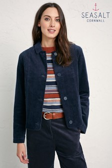 Seasalt Blue Dark Night Peran Jacket