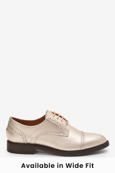 Leather Brogue Lace-Ups