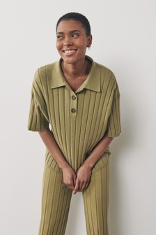 Ribbed Top Co-ord