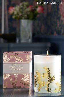 Laura Ashley Sweetpea & Freesia Candle