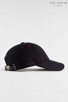 Ted Baker Mugg Textured Wool Baseball Cap