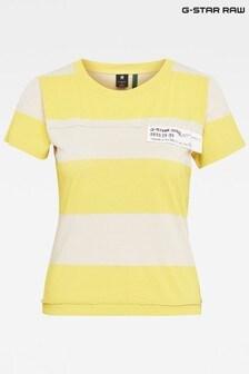 G-Star Multicolor Slim Fit Wide Stripe T-Shirt