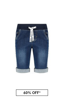 Aigner Blue Cotton Shorts