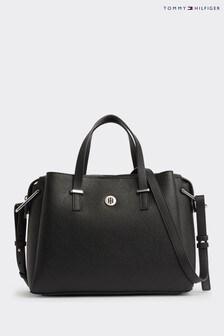 Tommy Hilfiger Black Core Satchel Bag