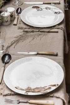 Set of 4 Royal Worcester Wrendale Animal Dinner Plates