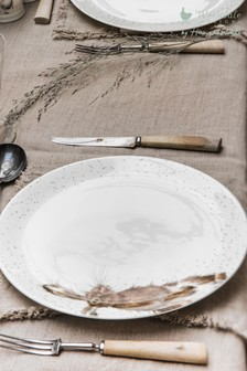 Set of 4 Royal Worcester Wrendale Hare Dinner Plates