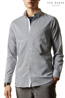 Ted Baker Hedoes Geo Print Shirt