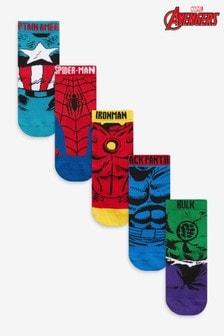 5 Pack Marvel Avengers Socks