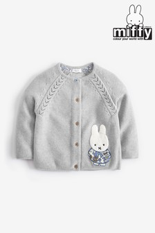Miffy Licensed Cardigan (3mths-7yrs)