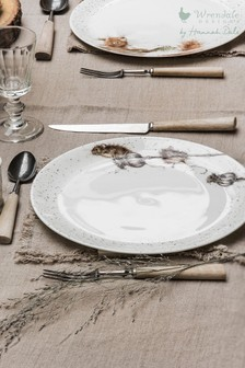 Set of 4 Royal Worcester Wrendale Mouse Dinner Plates