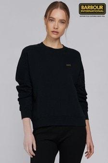 Barbour® International Metallic Mini Logo Sitka Sweatshirt